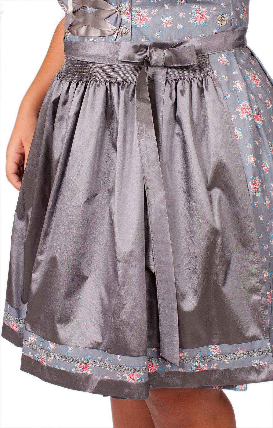 weitere Bilder von Mididirndl Toscana 2tlg. 58cm PLUS SIZE grau