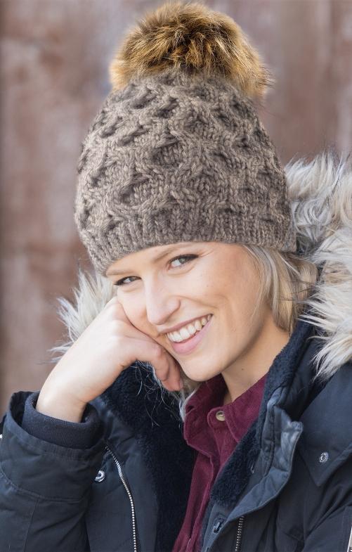 Tiroler hoeden 45052KB bruin