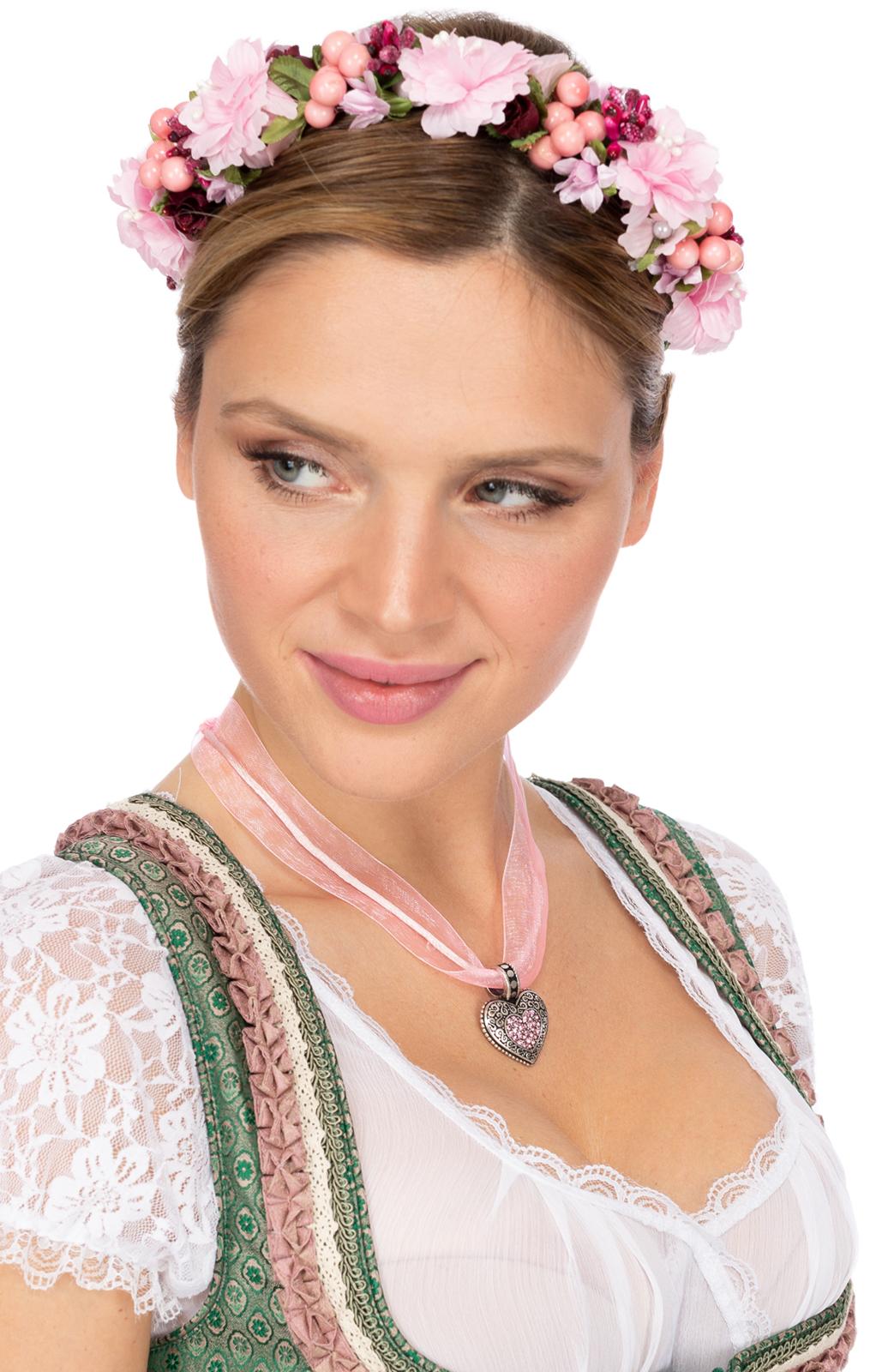 weitere Bilder von Haar- und Hutkranz SOPHIA 1014 rosa