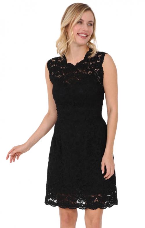 Kleid MEGAN schwarz