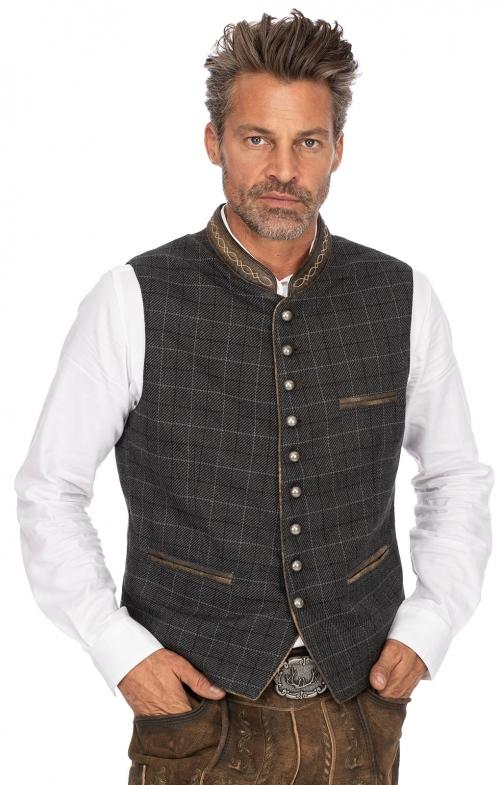 Traditional waistcoat THEO black