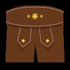 Damen Lederhosen - Tracht neu interpretiert