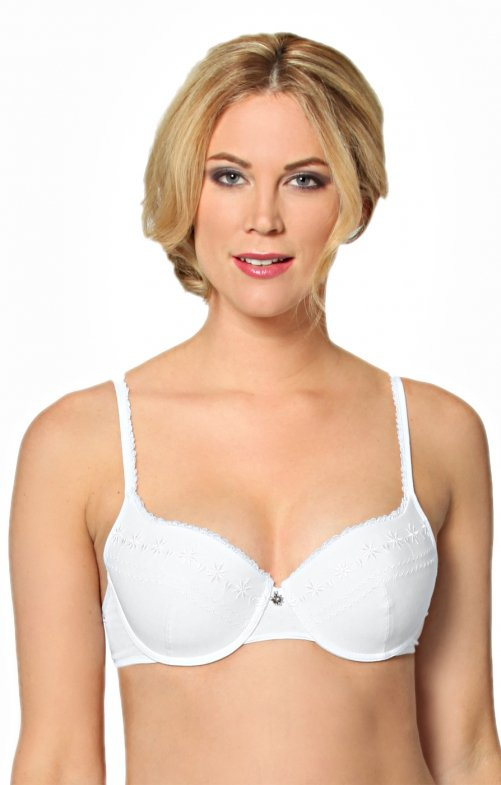 Dirndl underwear traditional bra U110 white
