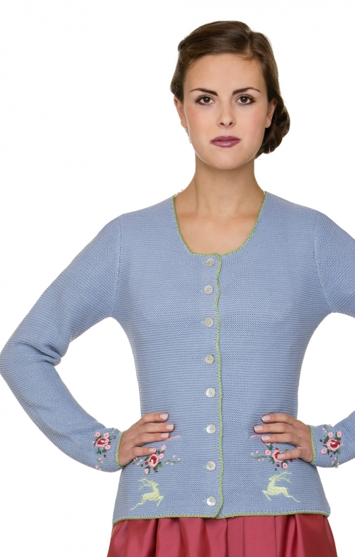 Costume cardigan VALETTA blue