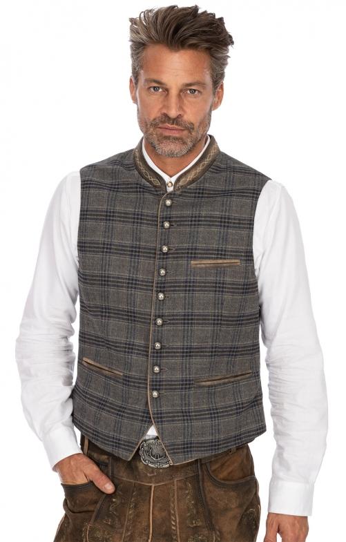 Traditional waistcoat THEO gray