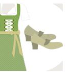 grüne Dirndl match