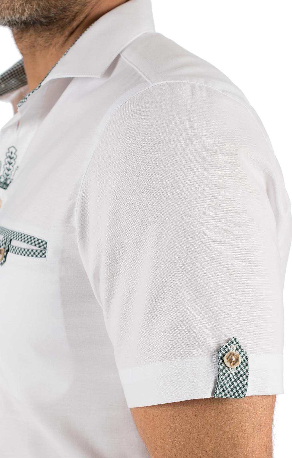 weitere Bilder von Trachten Kurzarmhemd THORSTEN weiß