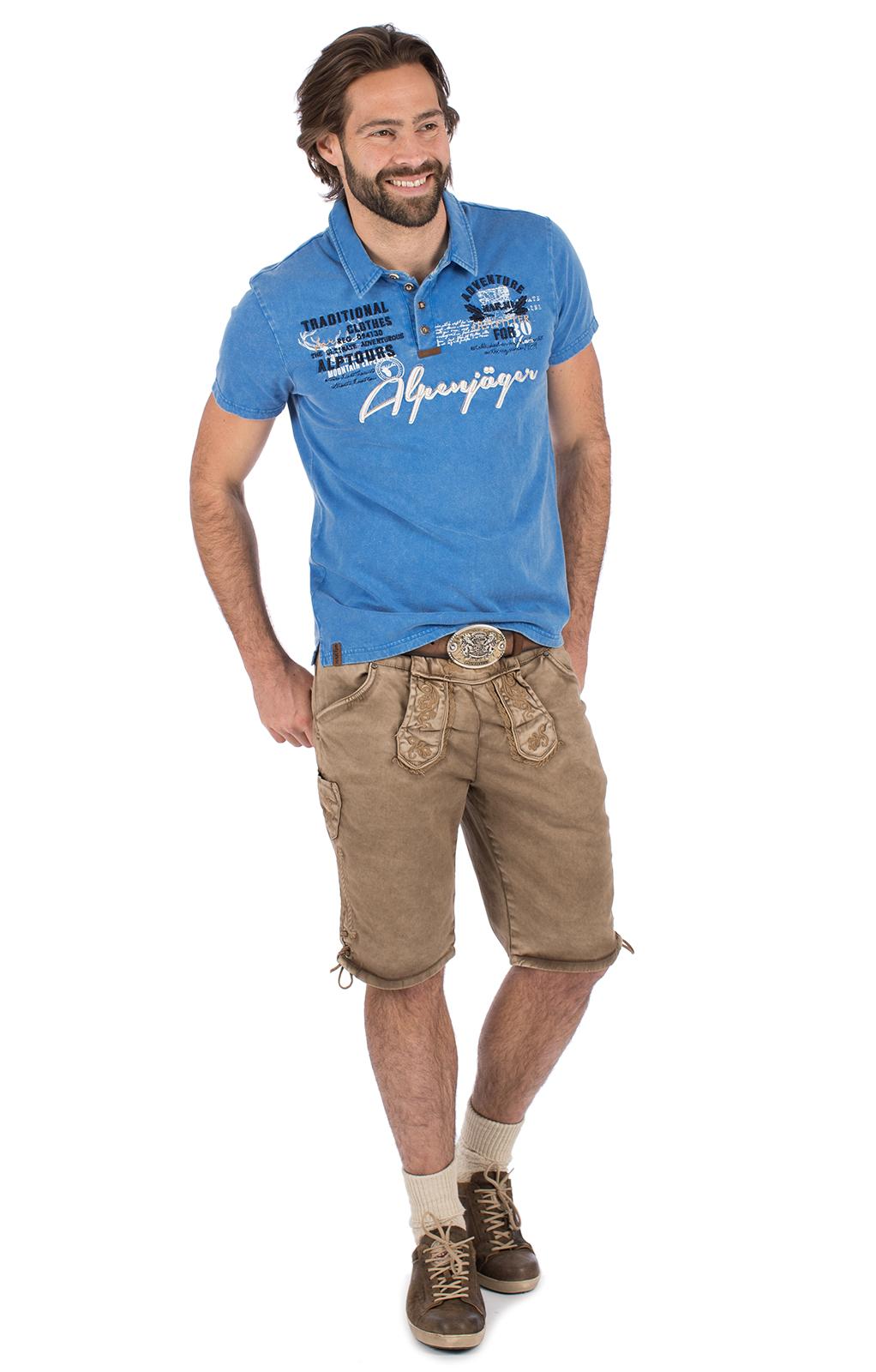 weitere Bilder von Kostuums T-shirt E09 - ALPENJAEGER blauw