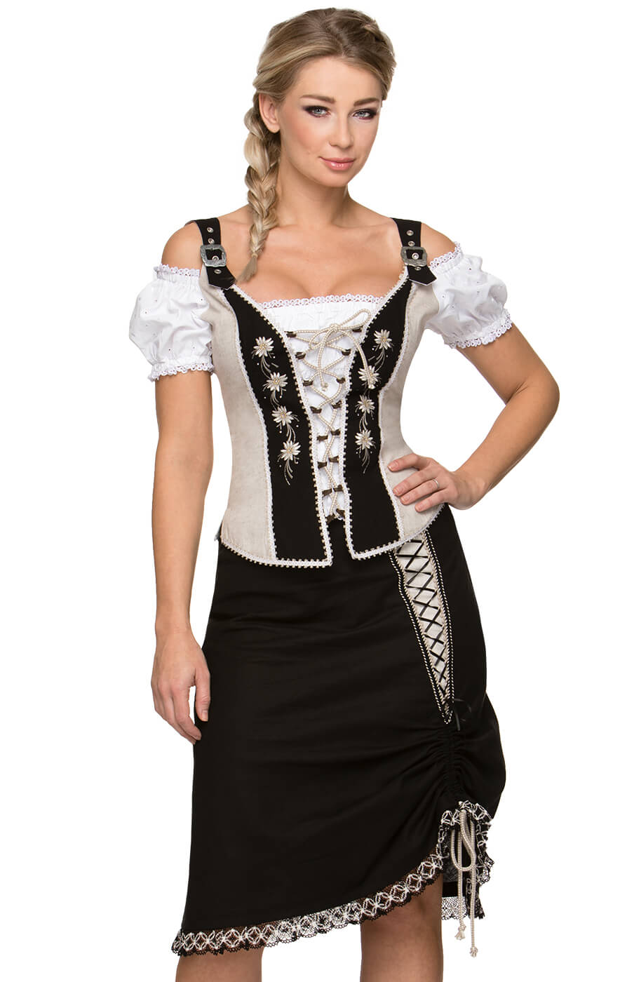 Traditional skirt TALISSA black von Stockerpoint