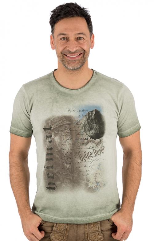Trachten T-Shirt FYNN hellgrün
