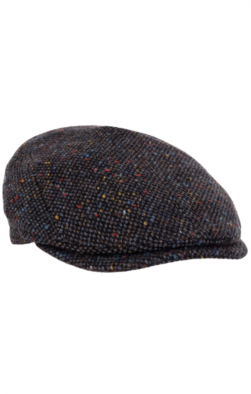 Flatcap 54002 anthrazit multi