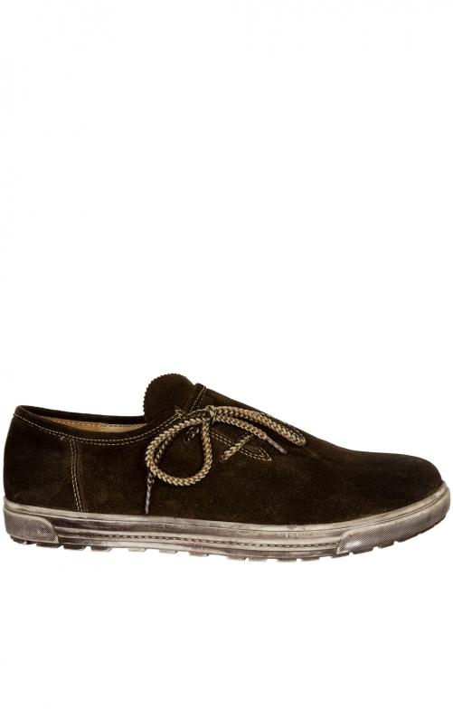 Traditionele schoenen WALBERLA urig hout