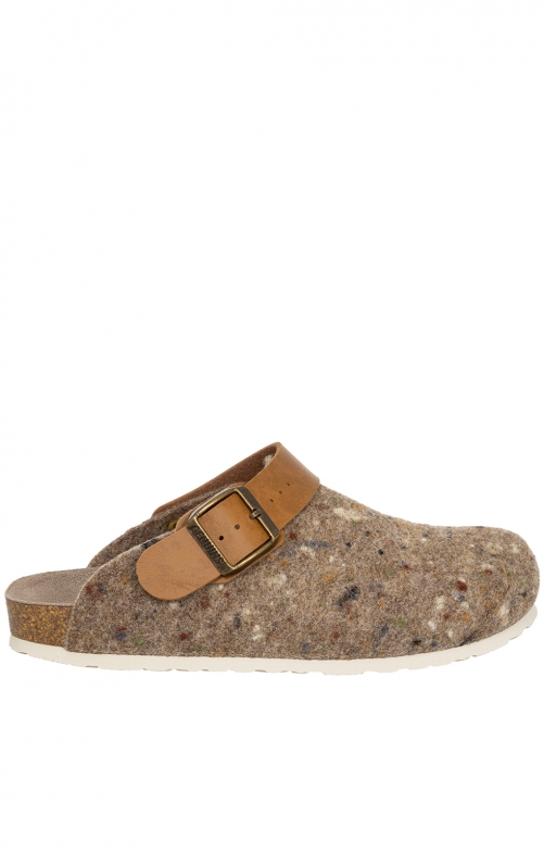 Traditional Slipper G101600 SHETLAND light brown