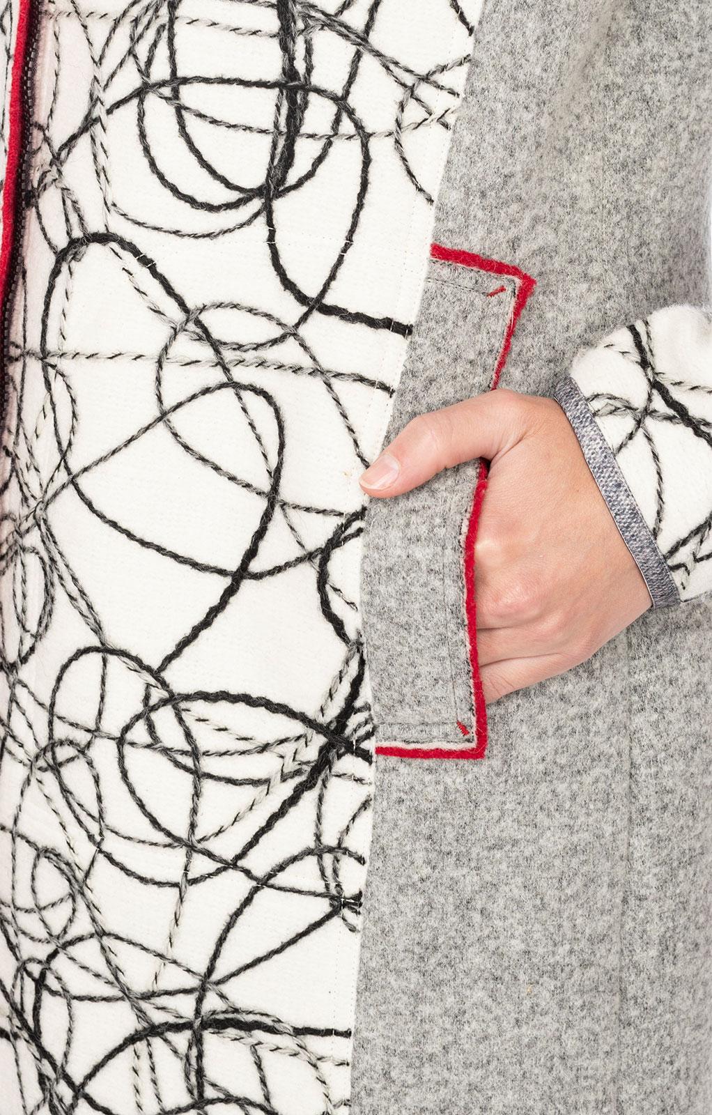 weitere Bilder von Giacca in maglia MAHNKOPF bianco