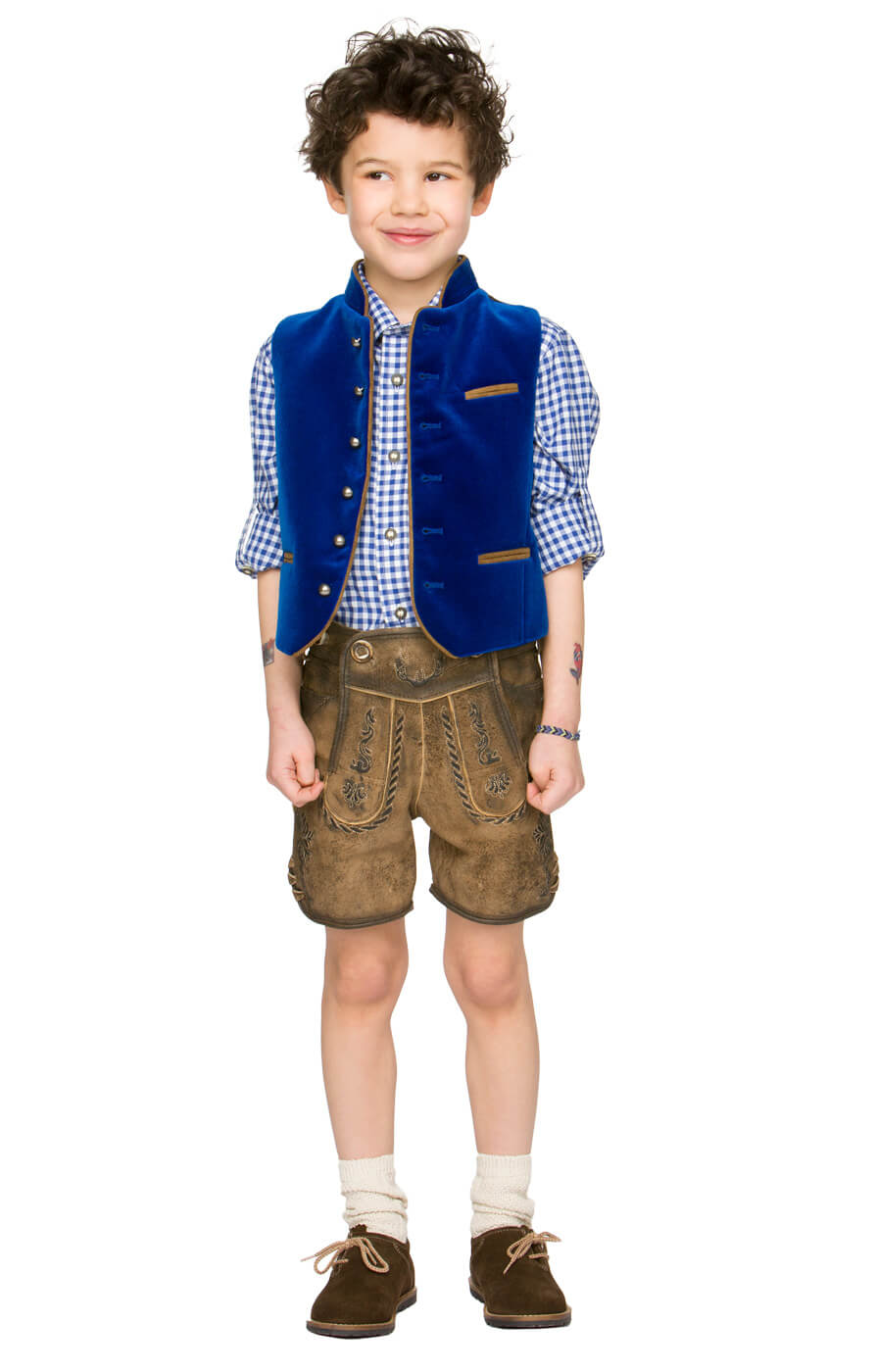weitere Bilder von Children traditional shirt Bob blue