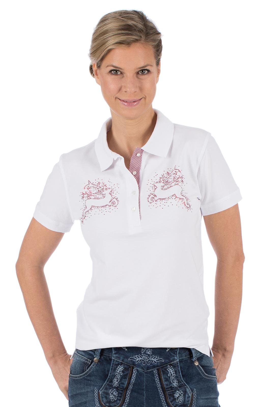 Trachten T-Shirt BRITTA weiß von OS-Trachten