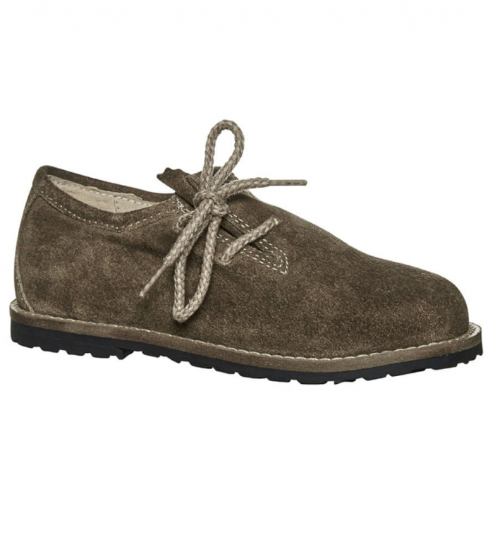 Children brogue 3399 lightbrown
