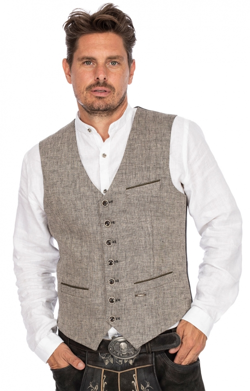 Tradition vest PIERRE gray