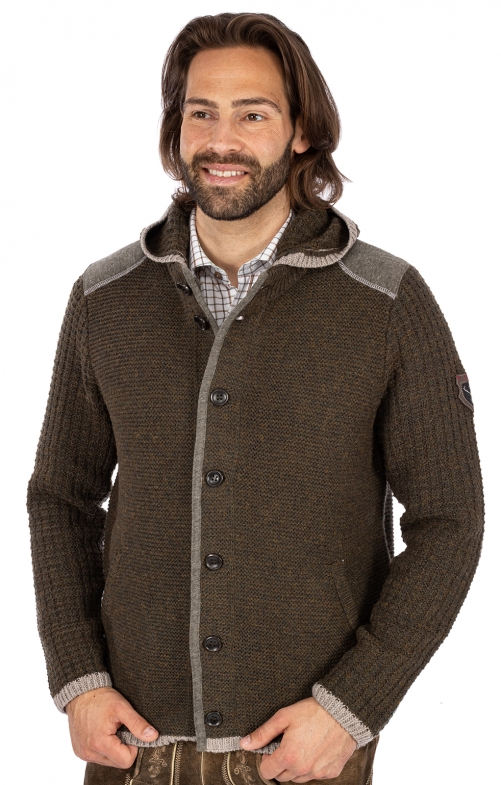 Strickjacke NABOR forest