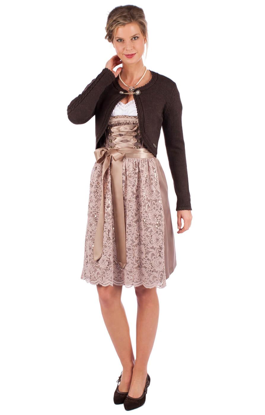 weitere Bilder von Traditional Cardigan DILL dark brown