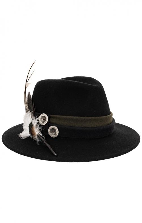 Trachten Hats 1013-D79BO black