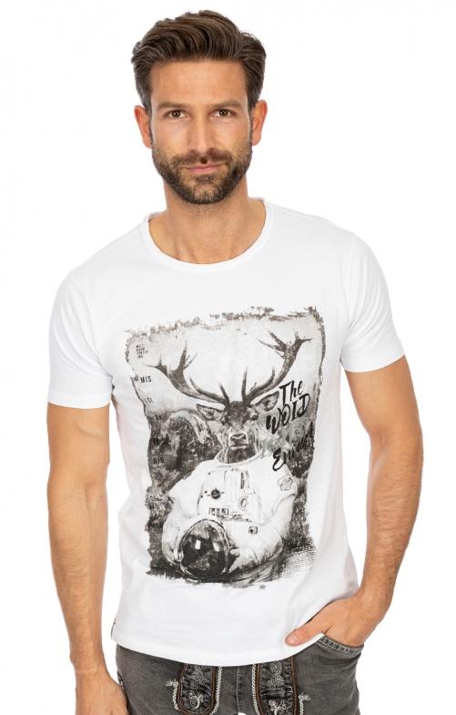 T-Shirt L102 - WOID weiß