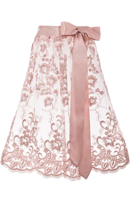 Dirndlschürze ROSA 65 cm rosa